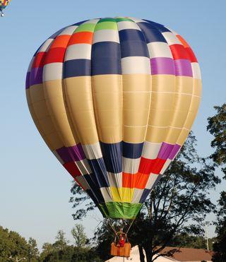 2009 balloon race 100